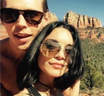 Vanessa Hudgens Fined $1,000 For Carving The Red Rock Of Sedona | vanessa hudgens
