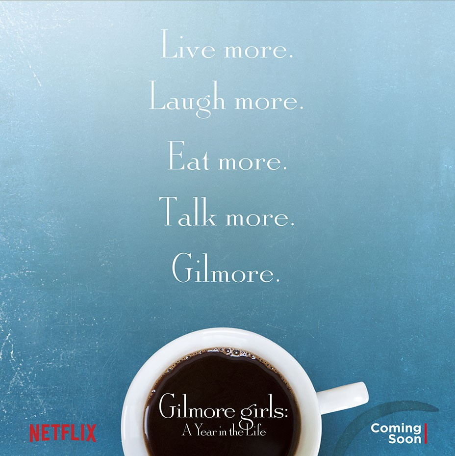 Get The Coffee Brewing: Gilmore Girls Gets Official Netflix Title And Poster | Poster