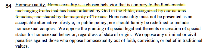Texas GOP Calls Most Texans Gay With Misused Verb | Texas GOP