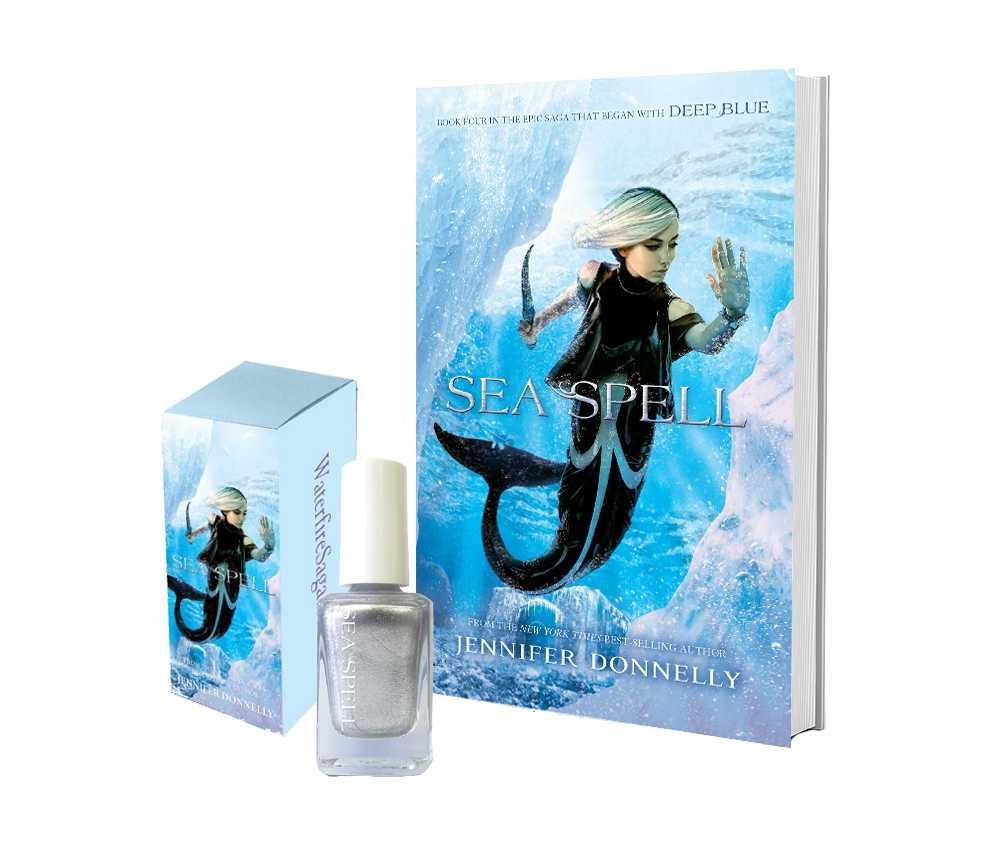 Win Jennifer Donnelly's SEA SPELL And Accompanying Nail Polish And Indulge Your Inner Mermaid | Sea Spell