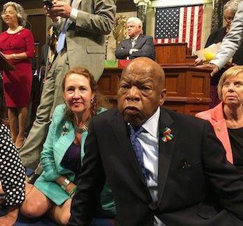BREAKING: Democrats Stage Sit-In To Force Gun Vote | democrats