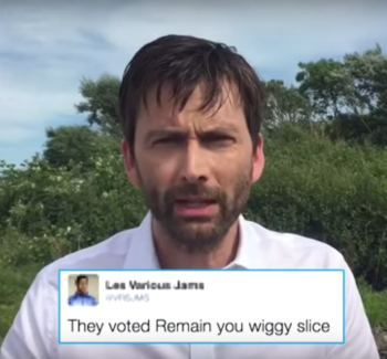David Tennant Helps Samantha Bee Mock Trump After Brexit | Brexit