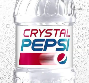 Crystal Pepsi To Make A Comeback | Crystal Pepsi