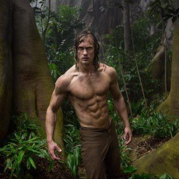 Alexander Skarsgard Reveals How He Got His 8 Pack Abs For Tarzan | Alexander Skarsgard