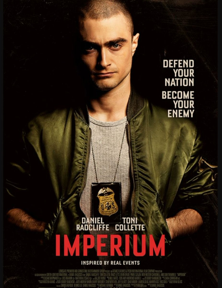 Daniel Radcliffe Infiltrates Neo-Nazi Group In The Trailer For His New Film 'Imperium' | Daniel Radcliffe