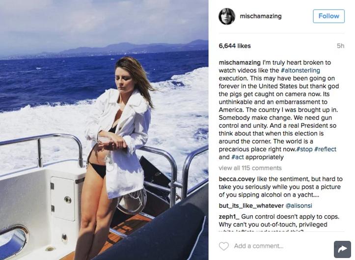 Mischa Barton Slammed For Instagram Post | Mischa