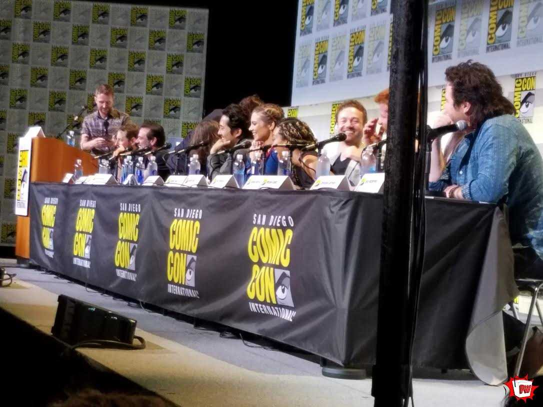 SDCC: 19 Things We Absorbed During The Walking Dead Panel | the walking dead