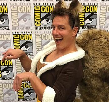 John Barrowman Answers Fan Questions At San Diego Comic-Con | barrowman