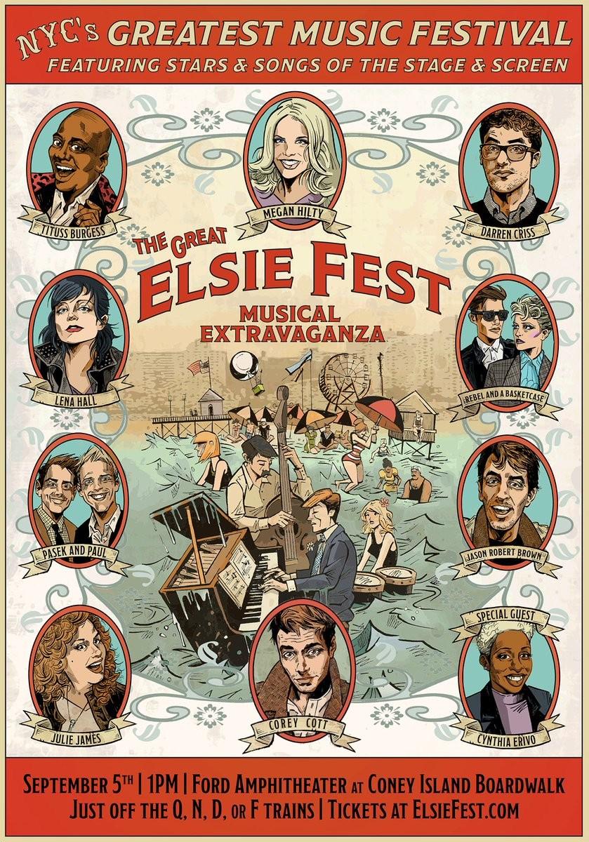 Performers Announced For Darren Criss' Elsie Fest In New York | Elsie Fest