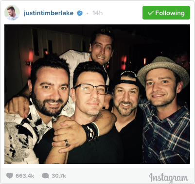 NSYNC Reunited To Celebrate Band Member's Birthday | NSYNC