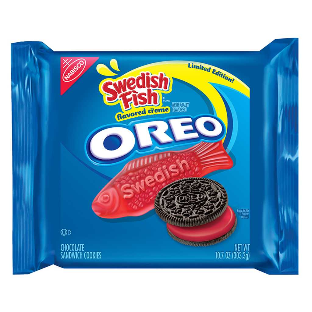 Swedish Fish Oreos Now Available For A Limited Time | Swedish Fish