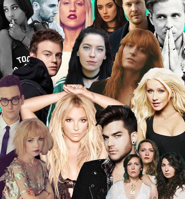 #MusicMonday Feat. Adam Lambert, One Republic, Britney Spears, Christina Aguilera, And More | #MusicMonday