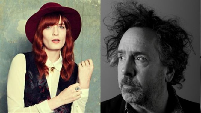 Florence And The Machine Pair Up With Tim Burton On