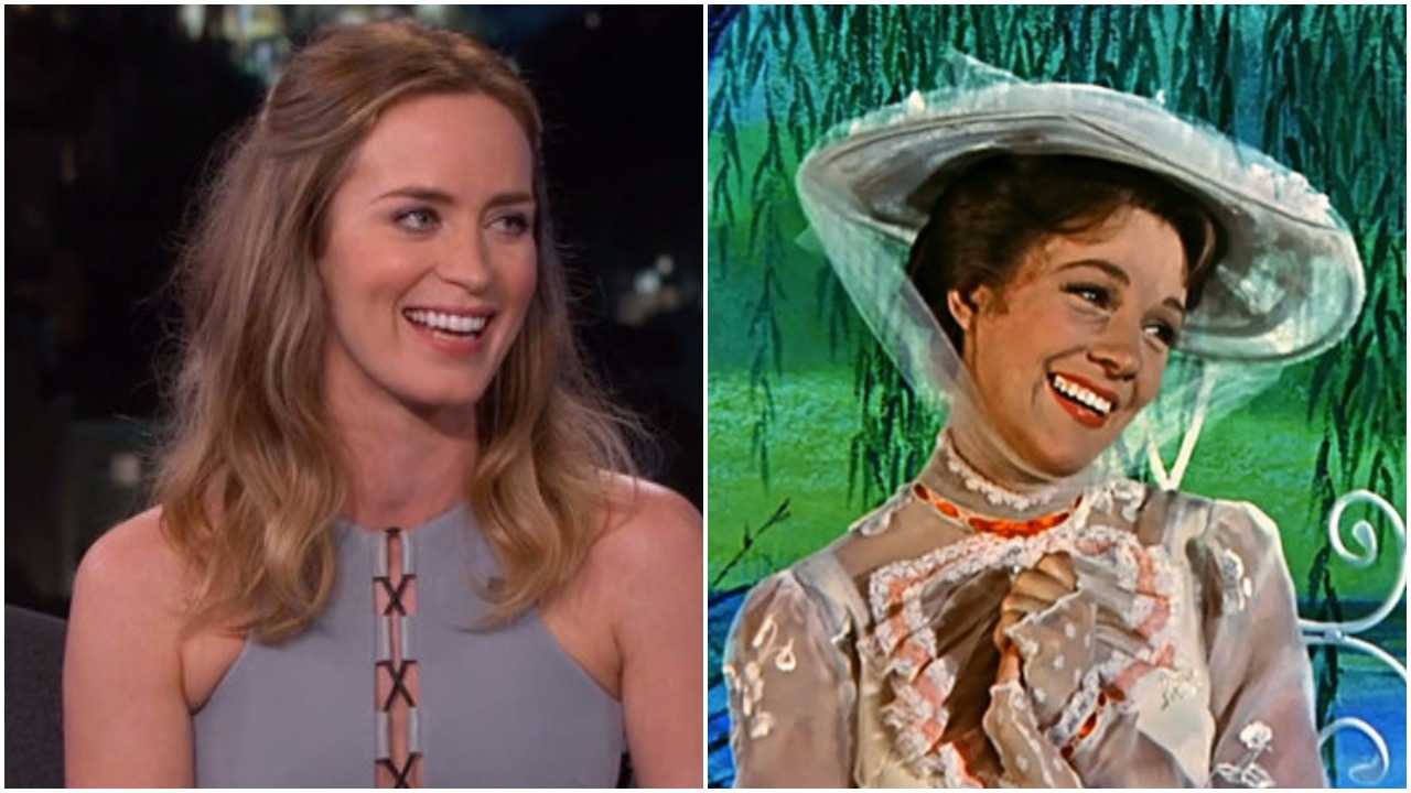 Julie Andrews Gives Emily Blunt Her Seal Of Approval | Mary Poppins