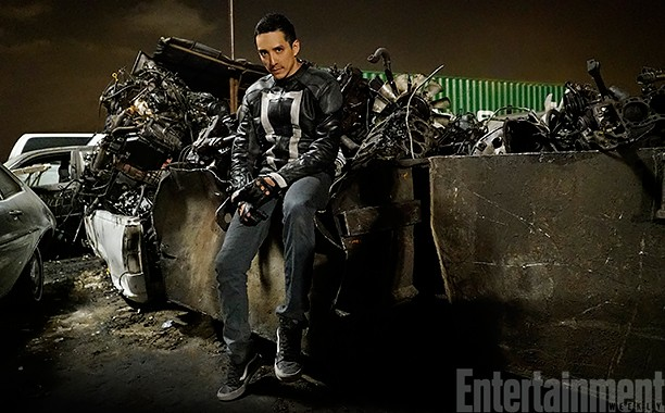 Take A Look At Agents Of S.H.I.E.L.D.'s Ghostly New Character! | Ghost Rider