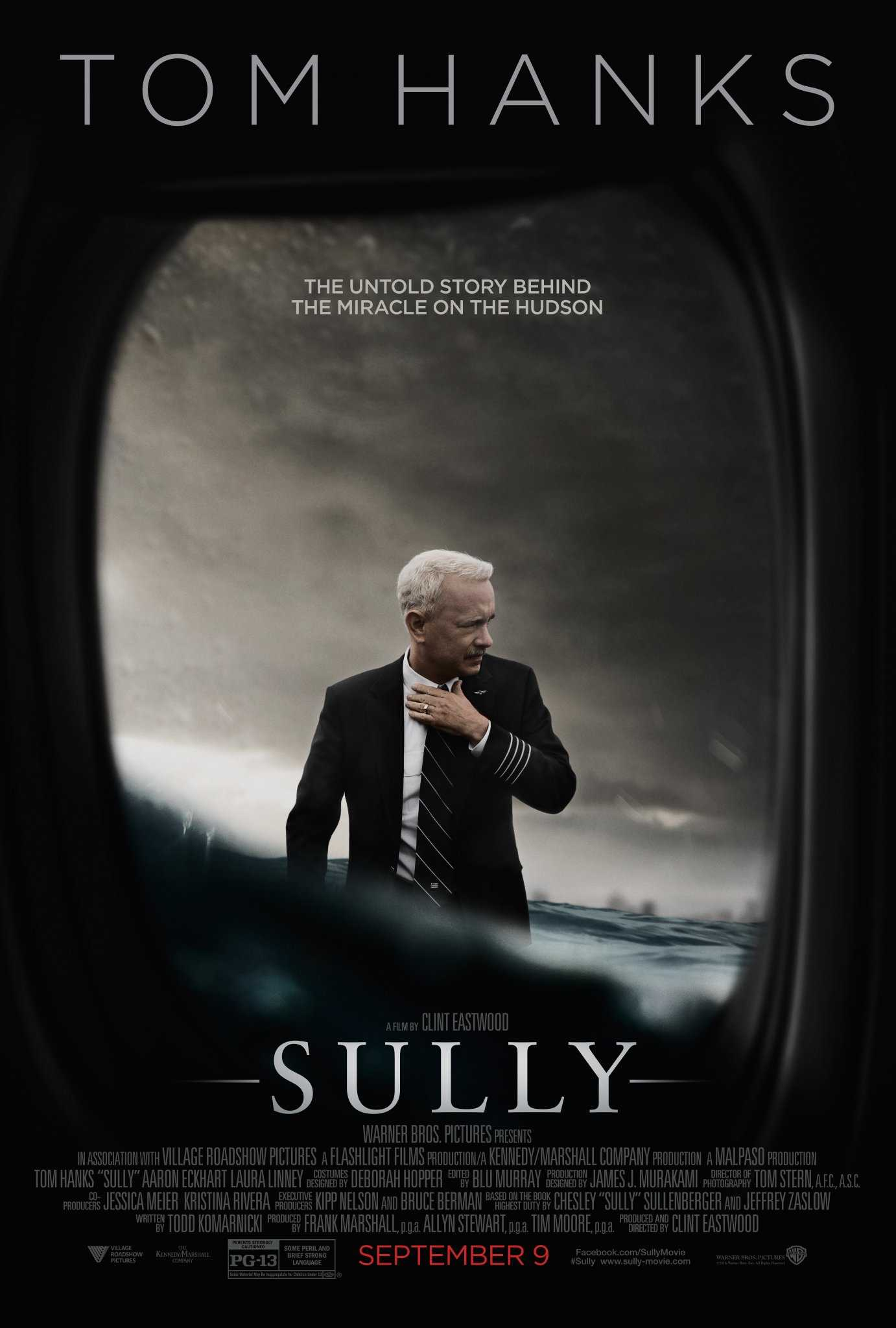 Tom Hanks Scores Another Hit With 'Sully' Debuting At $35.5 Million | Sully