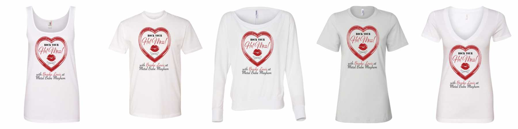Brooke Lewis & Metal Babe Mayhem Creates New Clothing Line | Brooke Lewis
