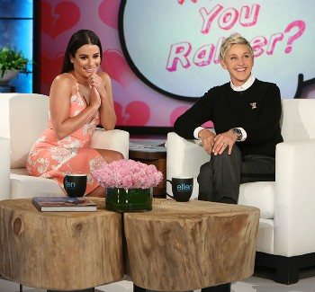 Lea Michele's New Boyfriend (If Ellen Has Her Way) Will Be… | Lea Michele