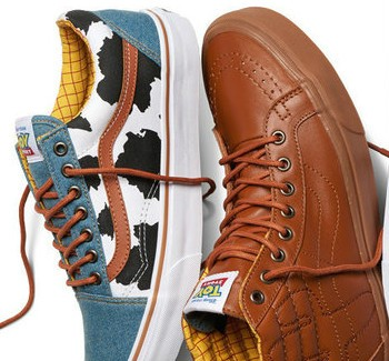 Pixar And Vans Team Up For New Toy Story Sneakers | vans
