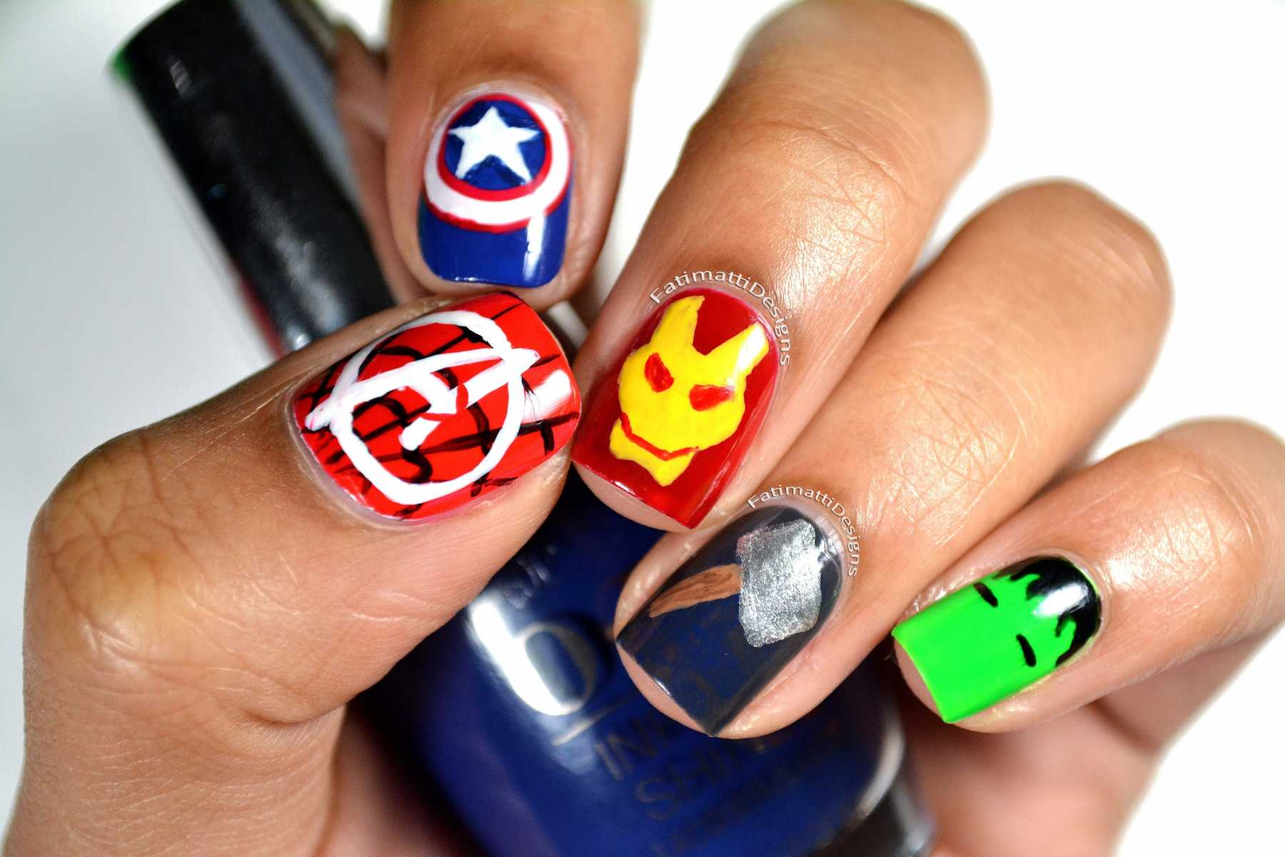 Why Isn't There An Official Avengers-Themed Nail Polish Collection? | nail polish