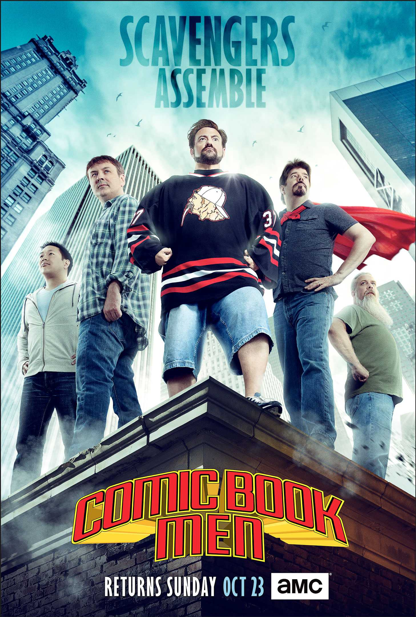 NYCC 2016: Catching Up With The Comic Book Men On What's Next | comic book men