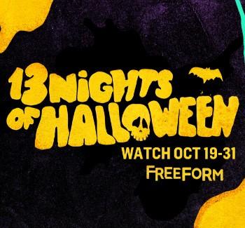 13 Nights Of Halloween Full Schedule | Halloween
