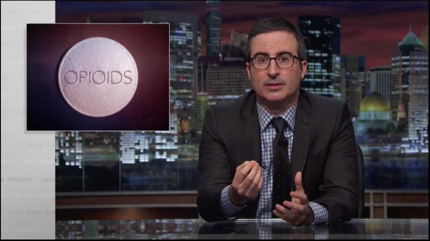 Last Week Tonight Examines America's Opioid Crisis | Opioid