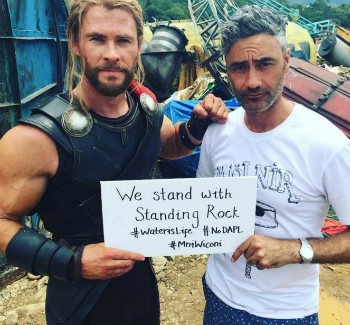 Chris Hemsworth Protests Against Dakota Pipeline, Apologizes For Cultural Appropriation | Hemsworth