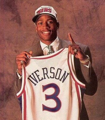 20 Years Ago Allen Iverson Made His NBA Debut | Iverson