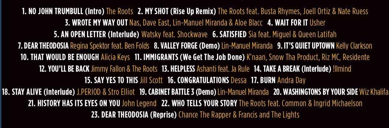 Hamilton Mixtape Available For Pre-Order Tomorrow! | Hamilton Mixtape
