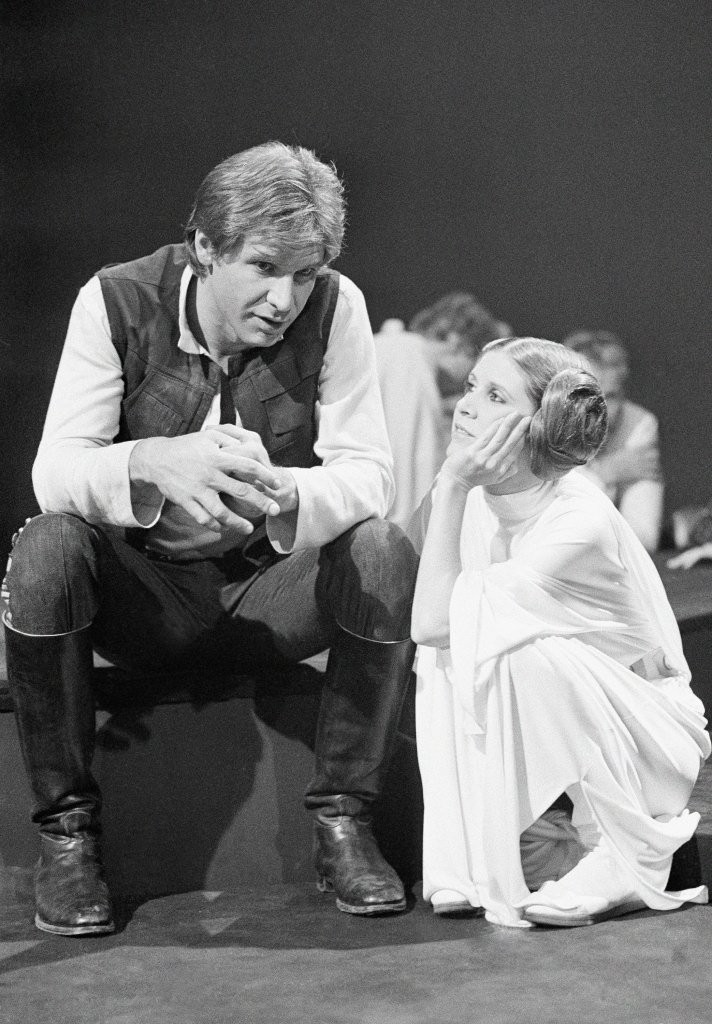 Carrie Fisher Chats About On-Set Affair With Harrison Ford | Carrie Fisher