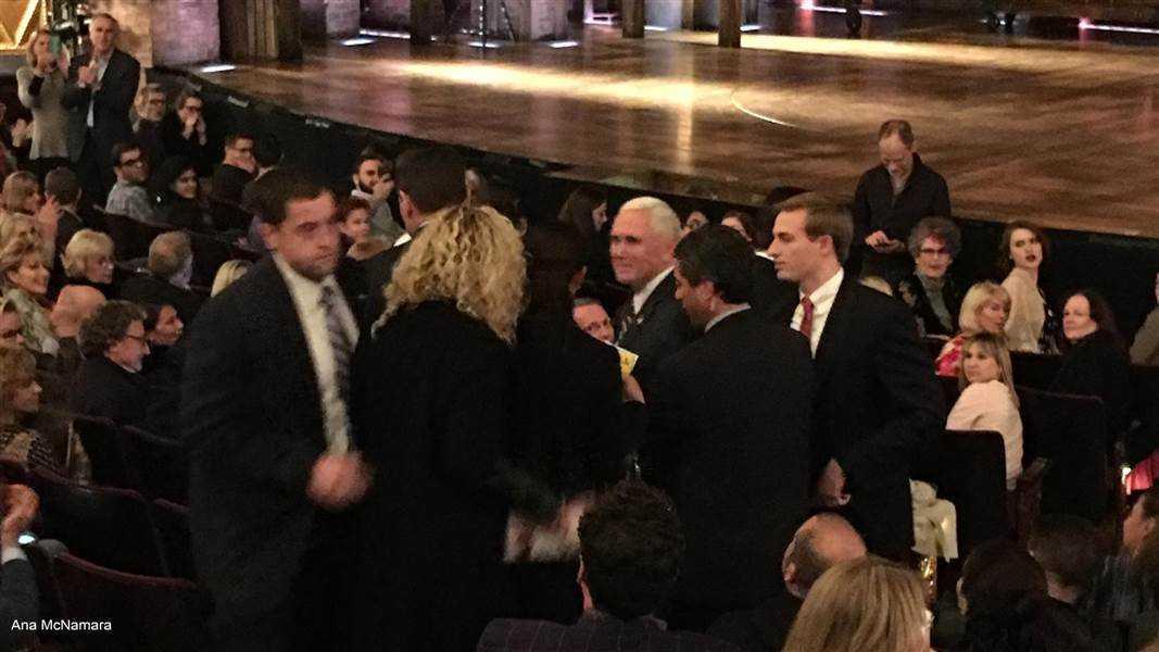 Hamilton Cast Has A Message For VP Elect Mike Pence | hamilton