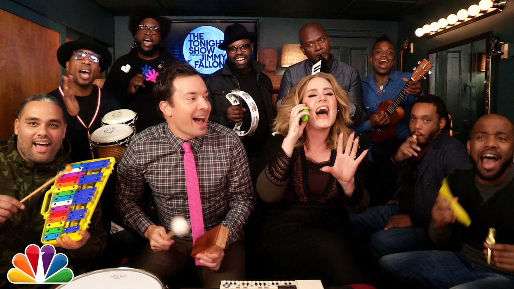The 5 Best Classroom Instruments Music Videos From The Tonight Show | Classroom Instruments