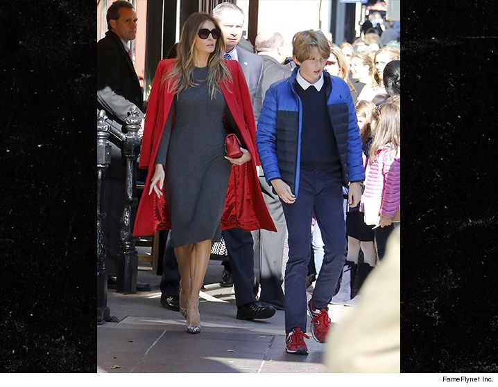 The Controversy Surrounding Melania And Barron Trump's Plan To Remain In NY | controversy