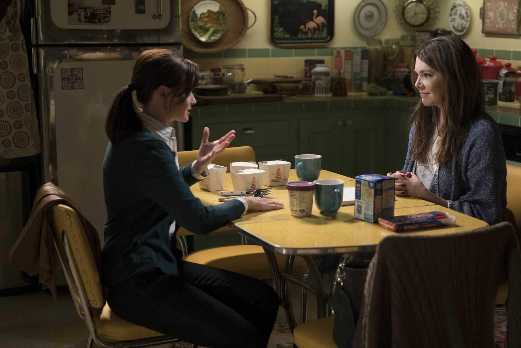 Gut Reaction: Gilmore Girls: A Year In The Life | Year in the life