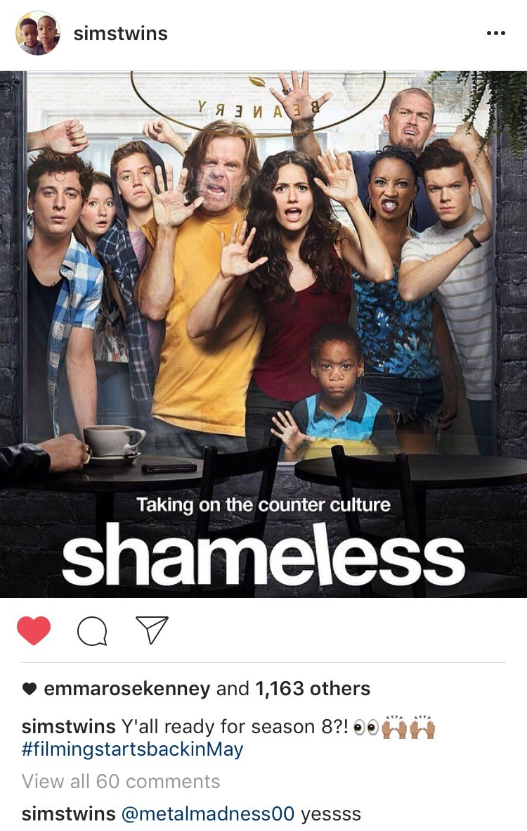 Shameless Renewed For Season 8, Filming Starts In May | Shameless