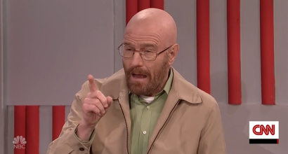 Walter White Gets Trump's Cabinet Cooking On SNL | Walter White
