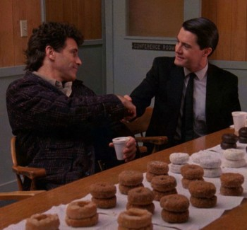 Twin Peaks Trailer Features Gordon Cole Eating A Donut | Twin Peaks