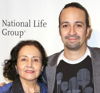 Lin-Manuel Miranda Teams Up With His Mom For Women's Rights | miranda