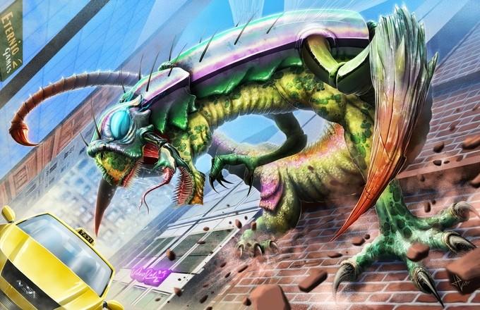 Battle For The Universe Kickstarter Preview   Universe