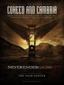 Coheed And Cambria Announce NEVERENDER U.S. Tour And Comic Series | NEVERENDER