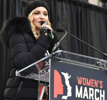 Madonna Claims Her Anti-Trump Speech Was