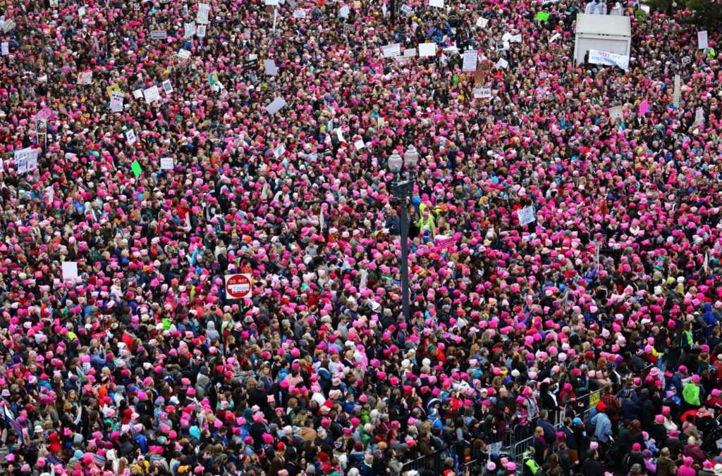 The Anti-Trump Women's March Went Global | Anti-Trump Women's March
