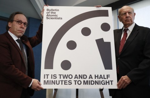 Nuclear Doomsday Clock: Two And A Half Minutes To Midnight | doomsday clock