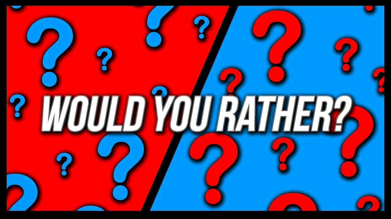 PopWrapped's Would You Rather?? | Would You Rather