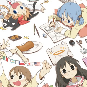 The Anime Nichijou Is Funny, Random And A Little Out There | nichijou