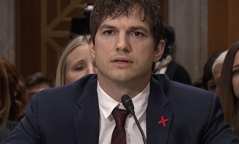 Ashton Kutcher And Senators On Modern Slavery | Ashton Kutcher