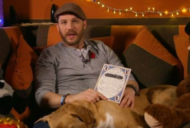 Tom Hardy Reading A Bedtime Story With His Dog Captivates The Internet | Tom Hardy