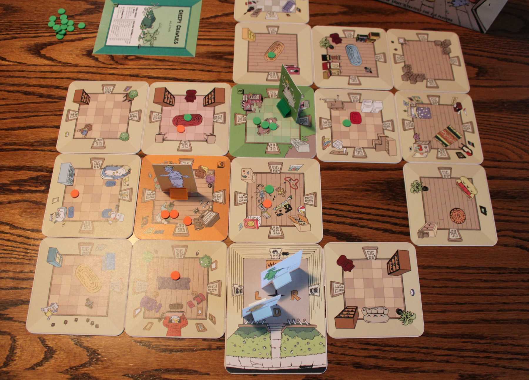 Pests Is A Top Notch Light Strategy Board Game | Pests