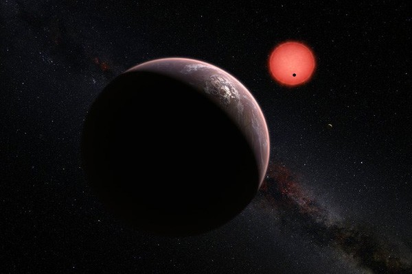 Seven Earth-Sized Planets Discovered Orbiting Nearby Star | planets
